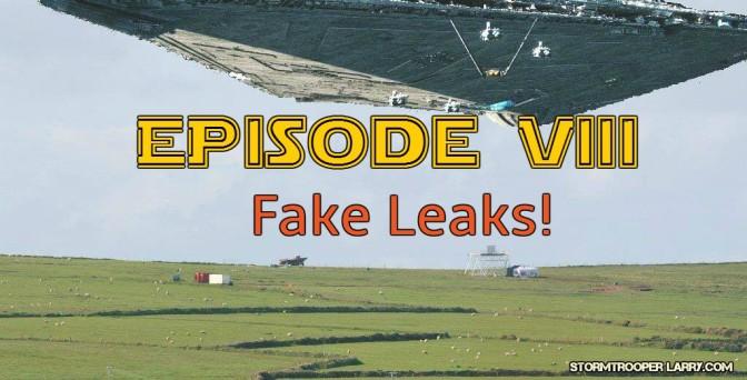 Star Wars Episode VIII: Photoshopped Leaks!
