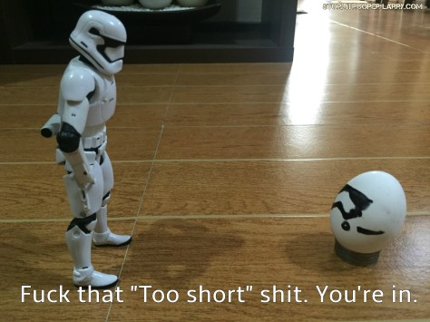 episode 8 stormtrooper