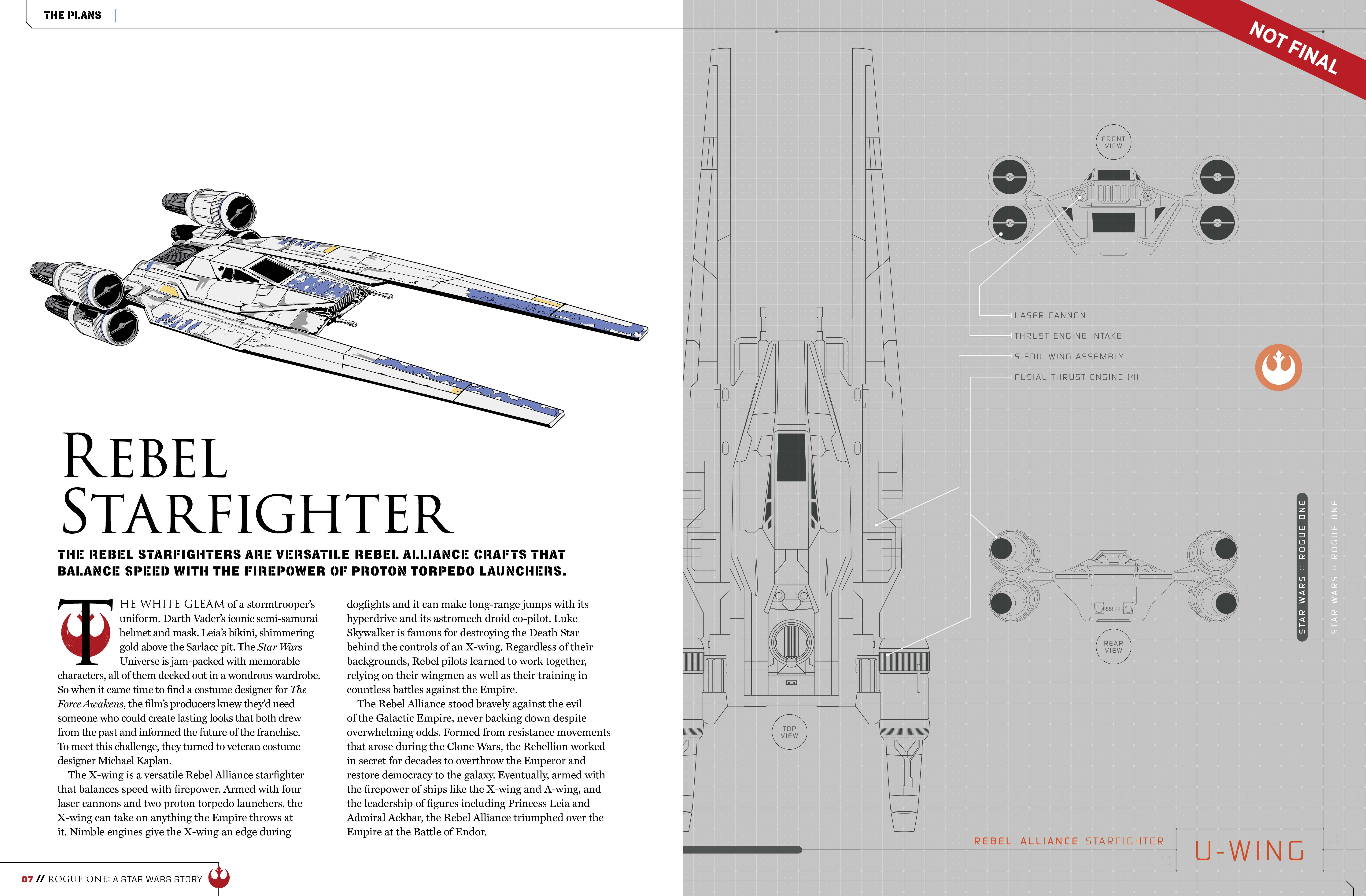 Rogue One ysis: The U-Wing is NOT a Starfighter ...