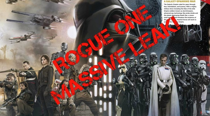 Massive Star Wars: Rogue One LEAK!