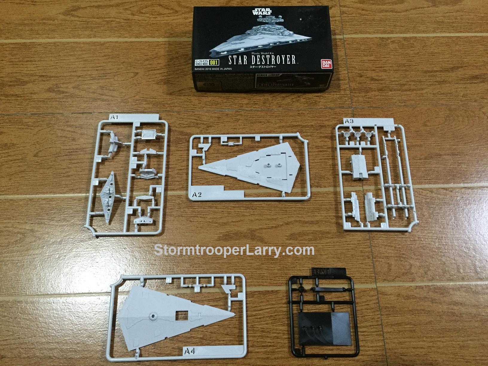 Review: Bandai Star Destroyer Model Kit   StormtrooperLarry com