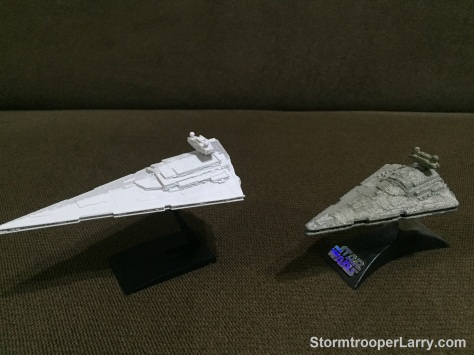 bandai star destroyer titanium comparison.JPG