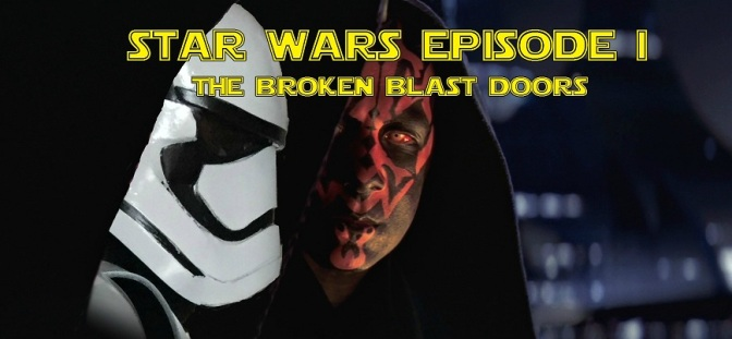 VIDEO: Darth Maul and the Broken Blast Doors