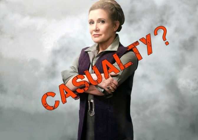 "Star Wars Episode VIII: Leia ""Written out in Opening Sequence"""