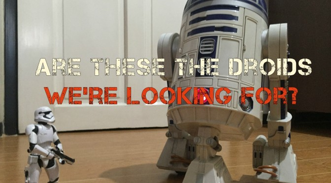 Interactive Droid Spotted Testing at Disneyland!