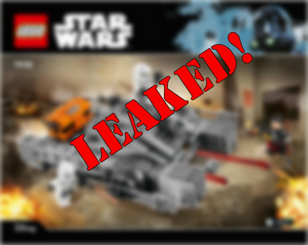 Rogue One Lego Update Photos Leaked Stormtrooperlarry Com