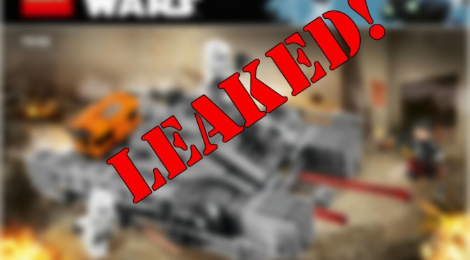 Rogue One Lego Update: PHOTOS LEAKED!