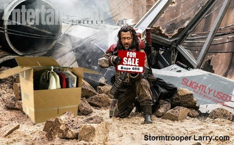 rogue one baze leak funny