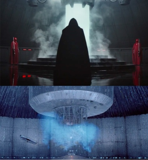 rogue one death star core comparison