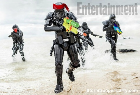 rogue one death troopers beach leak funny