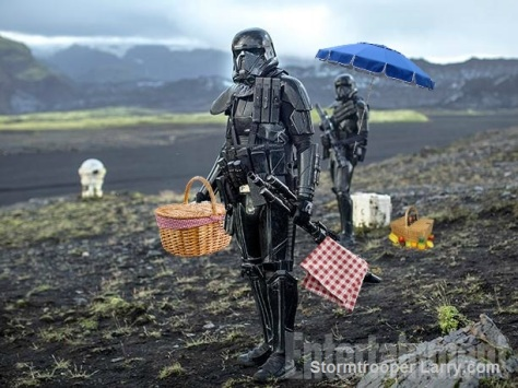 rogue one deathtrooper stormtrooper doll leak funny