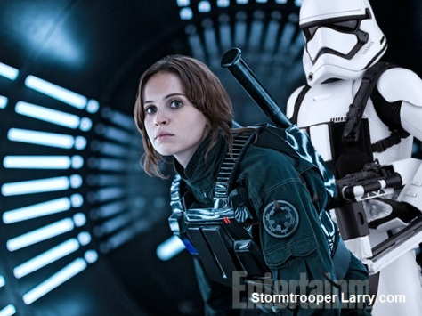 rogue one jyn erso leak sexy funny