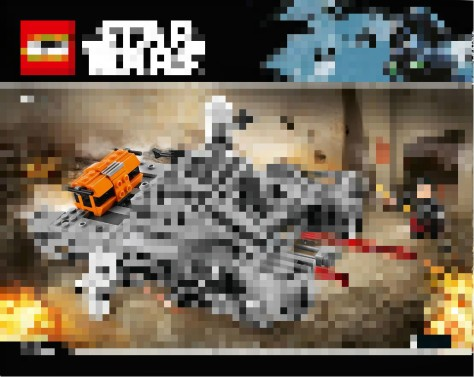 rogue one lego hovertank leak orange box