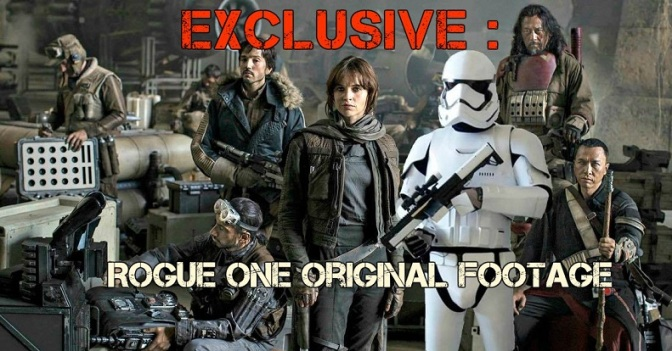 rogue one reshoot footage leaked spoiler