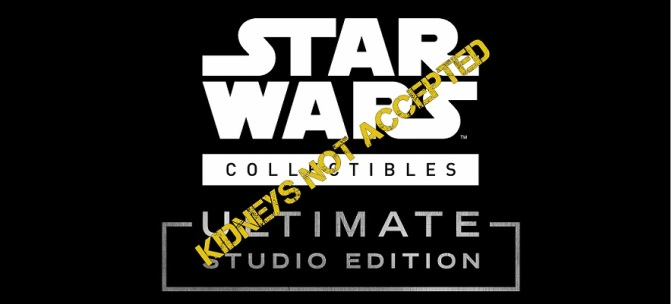 Star Wars Collectibles: Ultimate Studio Edition Launched!