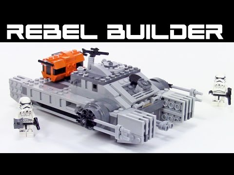 custom lego rogue one hovertank