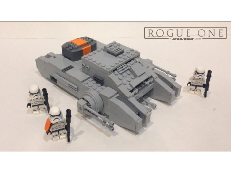 lego rogue one hovertank leak