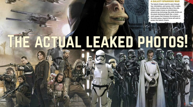 Rogue One: Photoshopped Visual Guide Leak!